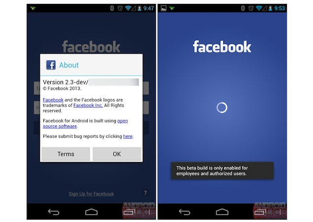 Facebook Home - Android