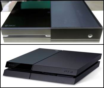 Diseño PlayStation 4 y Xbox One