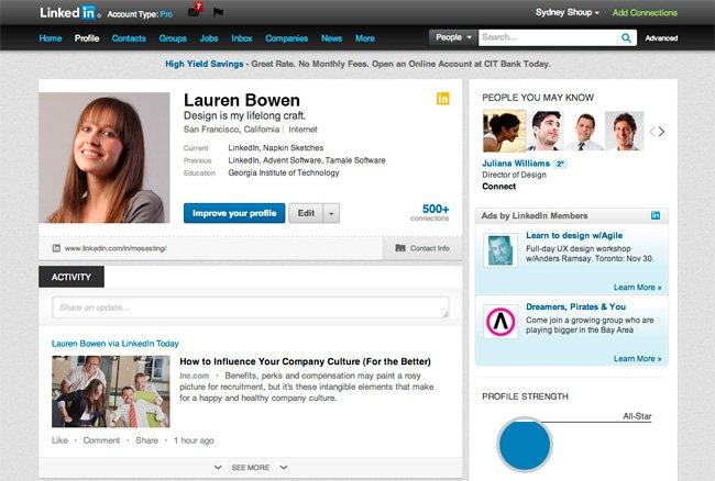 Consejos para mejorar el perfil de Linked In