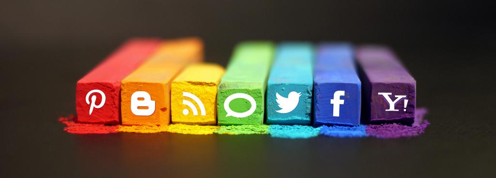 Social Media con contenido