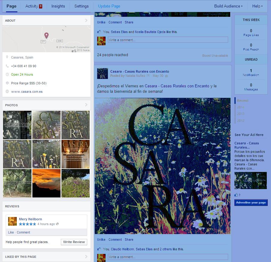 MD Blog New Streamlined Look for Facebook Pages Redes Sociales  Redes Sociales Facebook blog marketing digital - Social Media