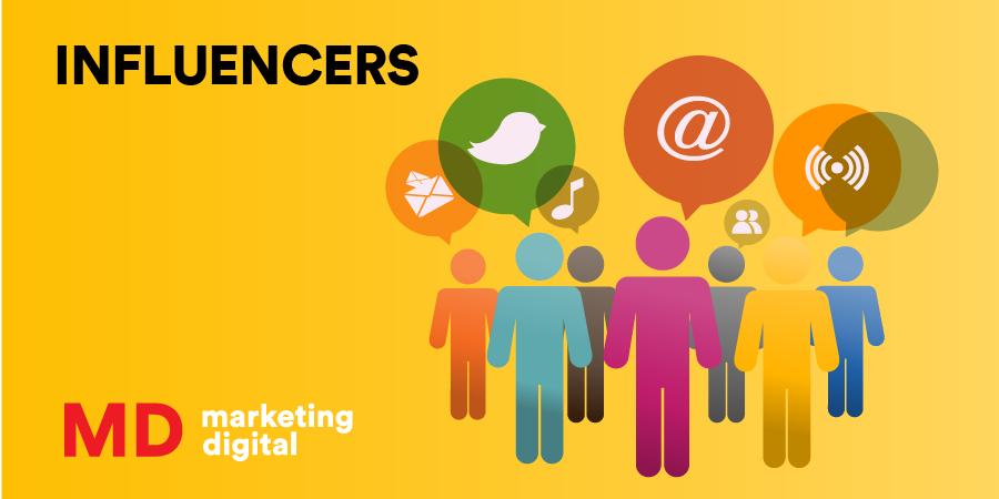 MD Blog Influencers, los mejores aliados para una estrategia digital Marketing Digital
