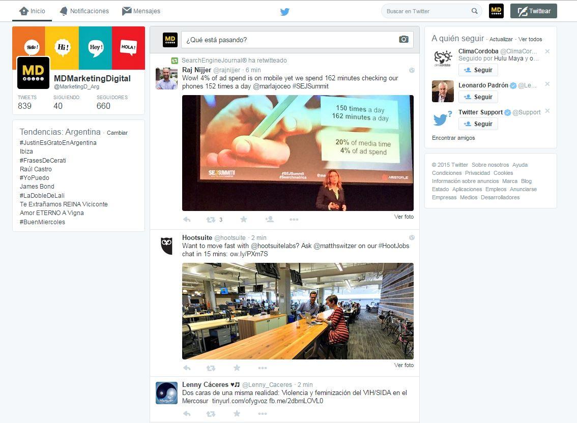 MD Blog Twitter ¿Cada día más parecido a Facebook? Marketing Digital