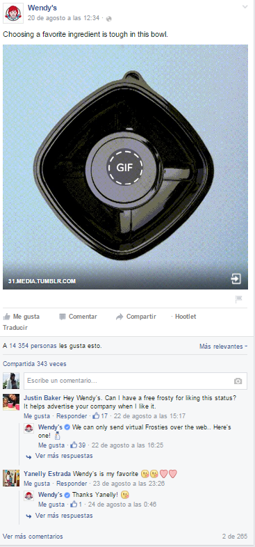 Wendys GIF