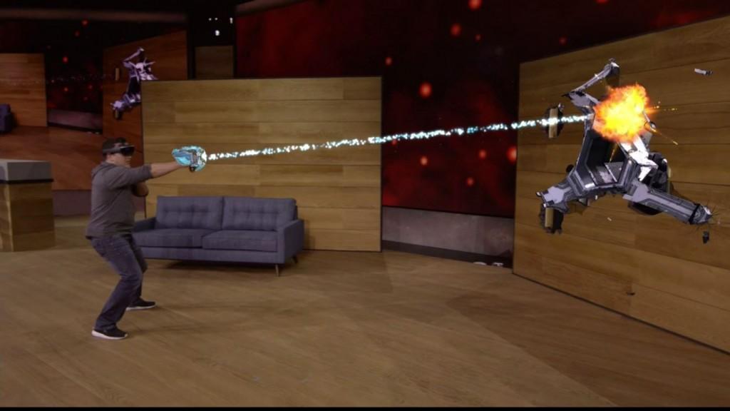 Microsoft y sus Hololens