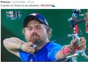 tweet gracios #Río2016