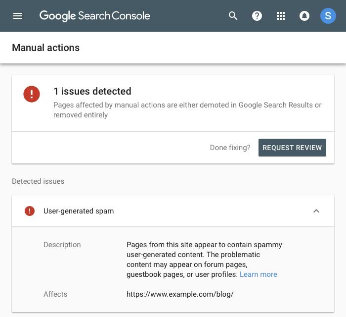 Google Search Console Manual