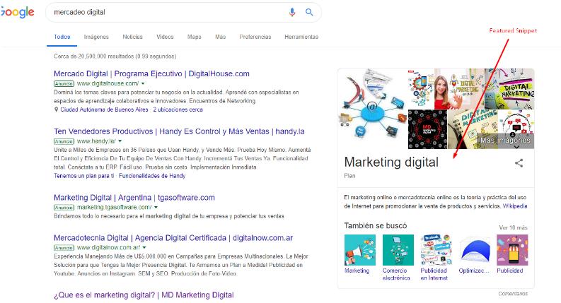 búsquedas no-click